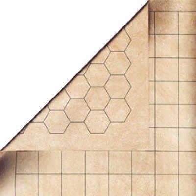 Battlemat Megamat 1.5'' Hex & Square Reversible 34.5'' x 48'' (CHX 97257)