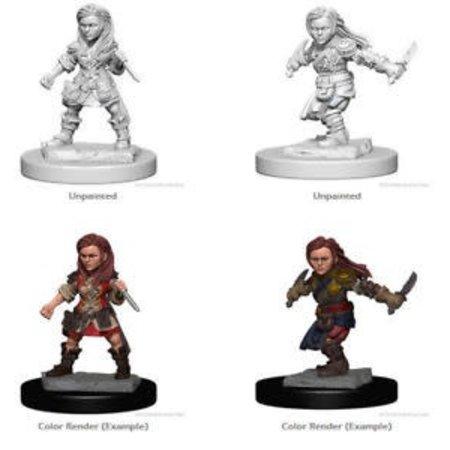 D&D Unpainted Minis - Halfling Rogue (Female)
