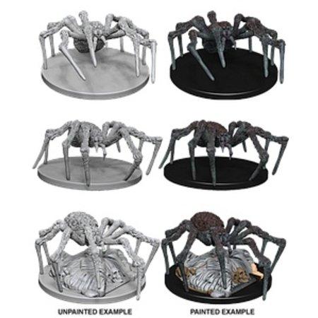 D&D Unpainted Minis - Spiders
