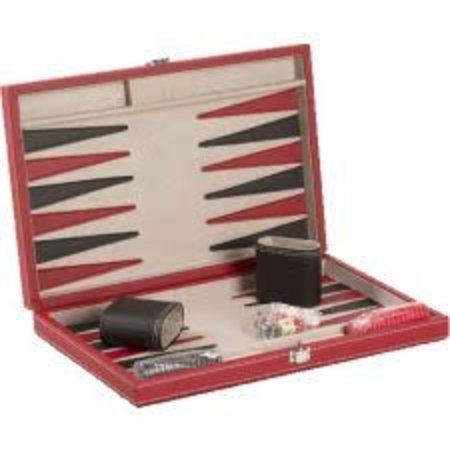 "Backgammon - 15"" Black/Red - CH3042M"
