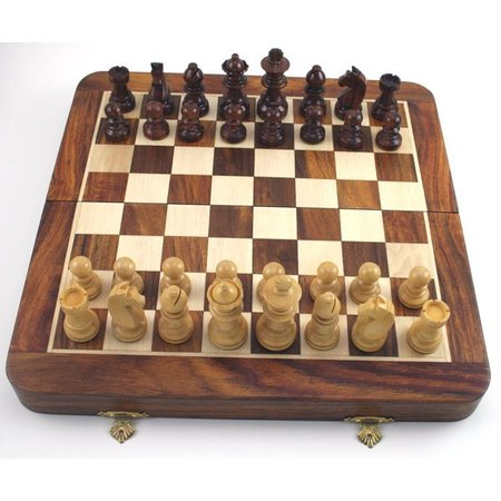 """Magnetic Chess Set (10"""")"""