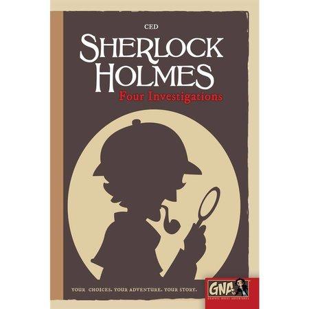 Graphic Novel Adventure #5 - Sherlock Holmes: Four Investigations