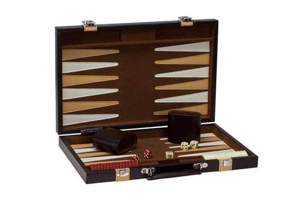 "Backgammon - 15"" Brown/Tan - CH3046M"