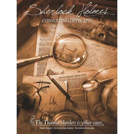 Sherlock Holmes Consulting Detective: Thames Murders And Other Cases