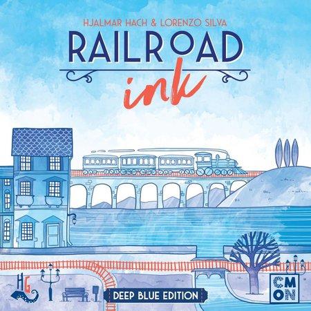 Railroad Ink: Deep Blue Edition