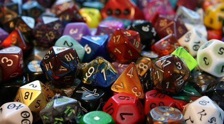 Polyhedral dice sets for D&D and other RPGs