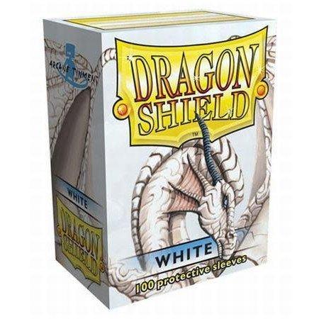 Dragon Shield - 63mm X 88mm Standard Classic - White 100 ct.
