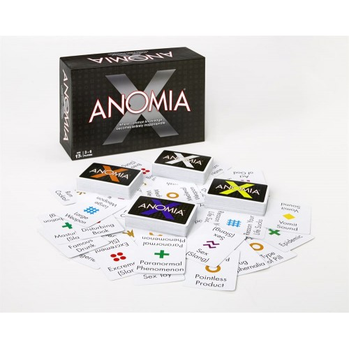 Anomia X party game
