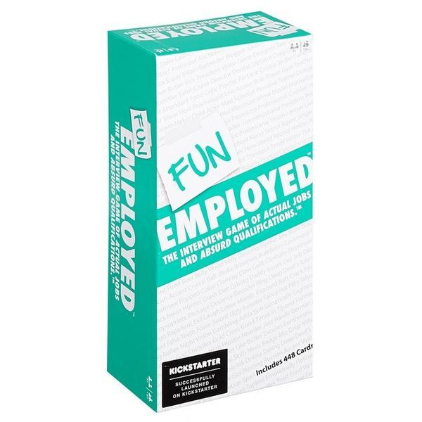 Funemployed party game