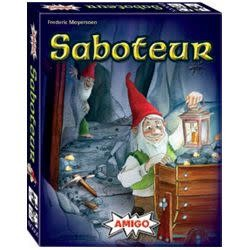 Saboteur social deduction game