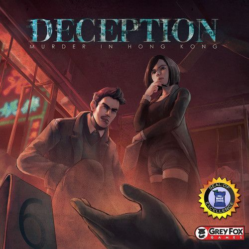 Deception Murder in Hong Kong social deduction game