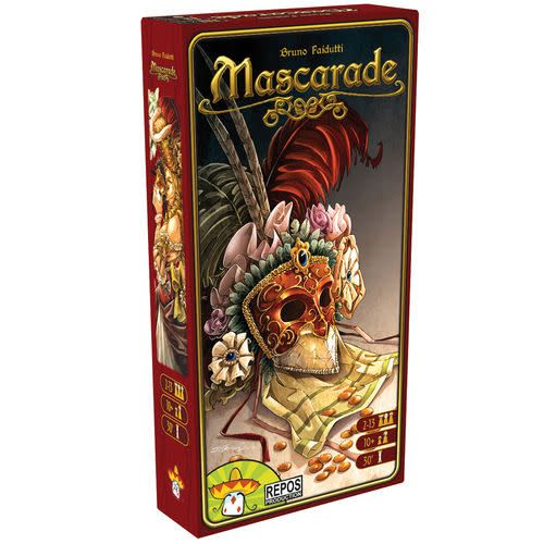 Mascarade social deduction game