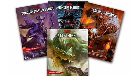 D&D Core Books & Starter Sets