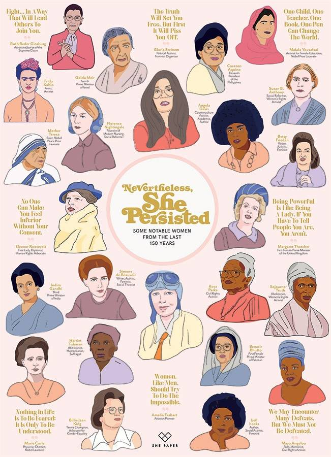 1000 - Nevertheless She Persisted