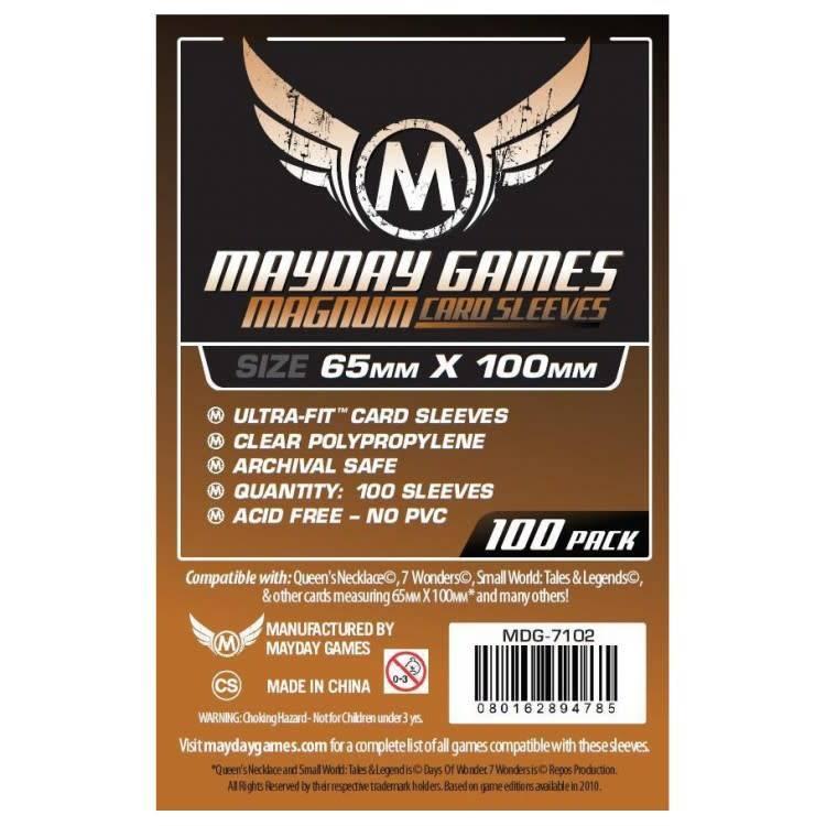 Magnum Sleeves 65mm x 100mm (7-Wonders Sized) 100ct