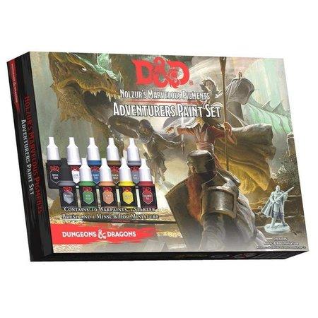 D&D Adventurer's Paint Set