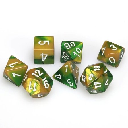 CHX 26425 Gemini Gold-Green w/White