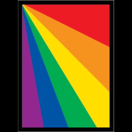 Legion - 67mm X 92mm Standard Card Sleeves - Rainbow  50 ct.