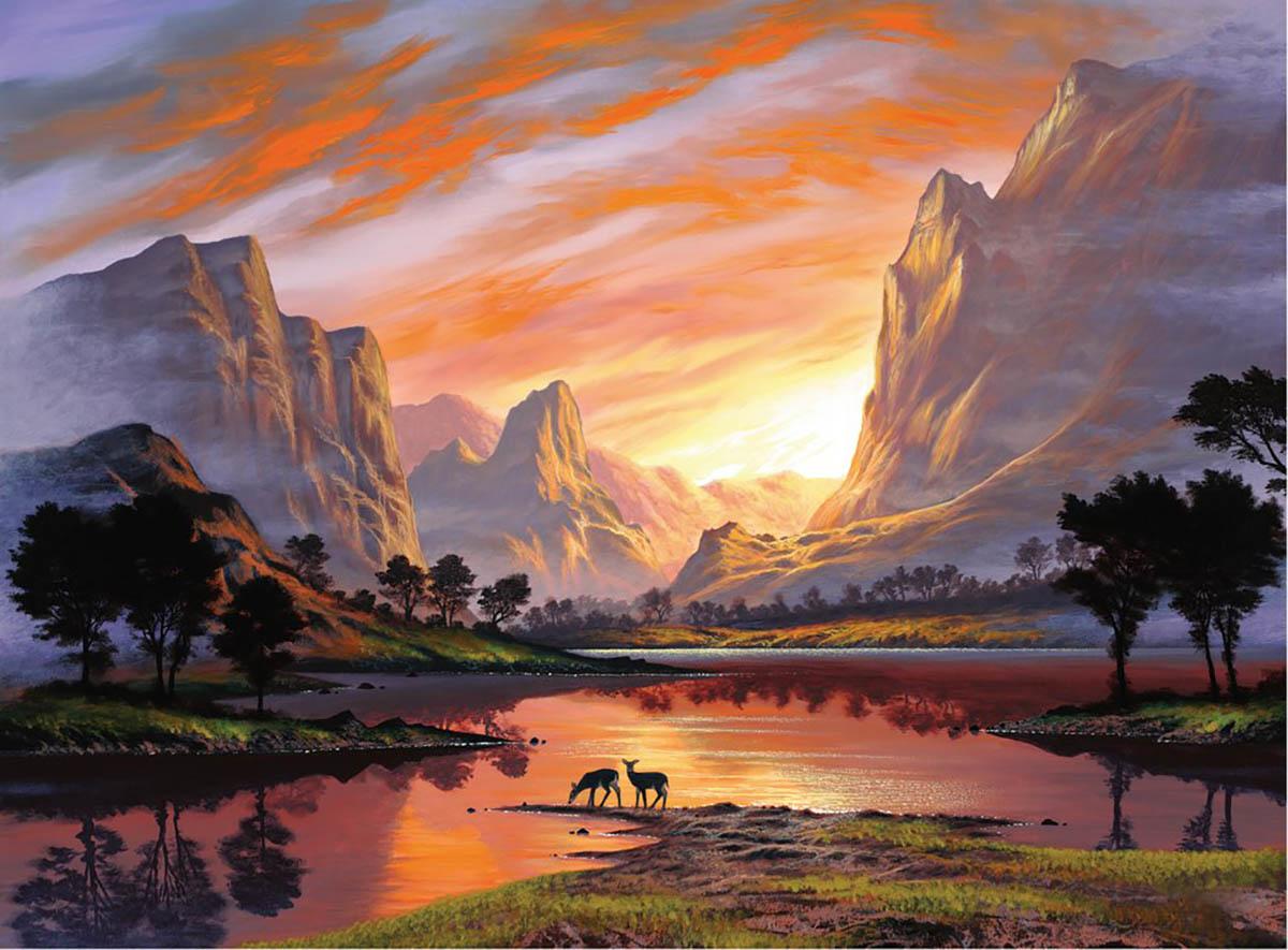 500 - Tranquil Sunset