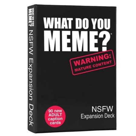 What do you Meme? - Expansion Pack: NSFW