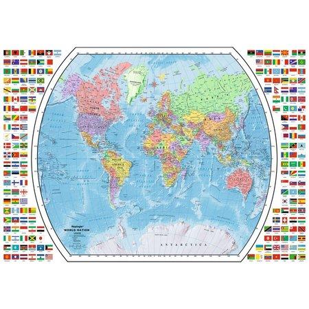 1000 - Political World Map