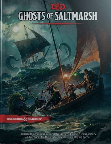 Dungeons and Dragons 5th Edition RPG: Ghosts of Saltmarsh