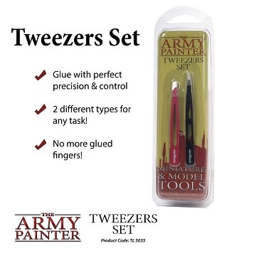 Army Painter Tools: Tweezers Set