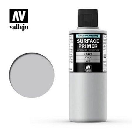 Vallejo: Brush-On Surface Primer - Grey (200 mL)