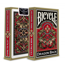 Bicycle Playing Cards - Gold Dragon Deck