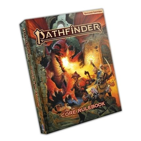 Pathfinder Roleplaying Game 2E: Core Rulebook (Hardcover)