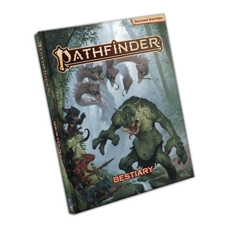 Pathfinder Roleplaying Game 2E: Bestiary (Hardcover)