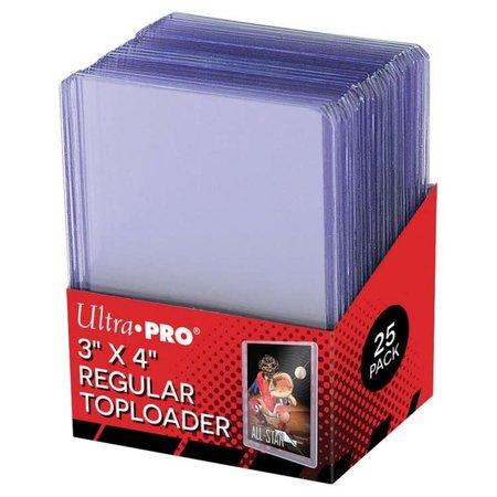 "Ultra Pro - 3"" x 4"" Regular Toploader 25 ct."