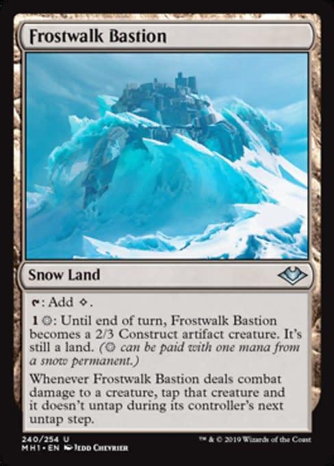 Frostwalk Bastion - Foil