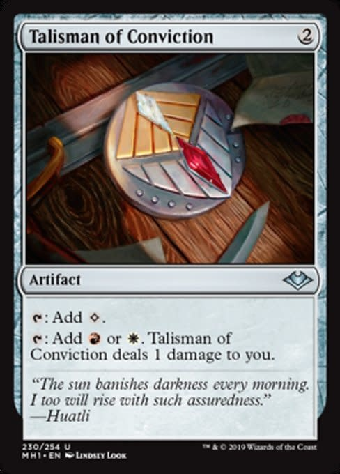 Talisman of Conviction - Foil