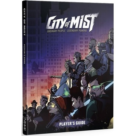 City of Mist RPG Player's Guide HC