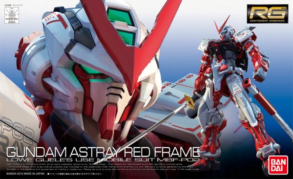 RG 1/144 - MBF-P02 Gundam Astray Red Frame