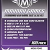 Mayday Games - 56mm X 87mm Standard USA Sleeves 100 ct.