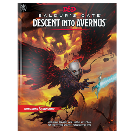 Dungeons and Dragons 5th Edition RPG: Baldur's Gate - Descent Into Avernus