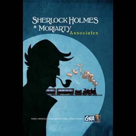 Graphic Novel Adventure #6 - Sherlock & Moriarty Associates