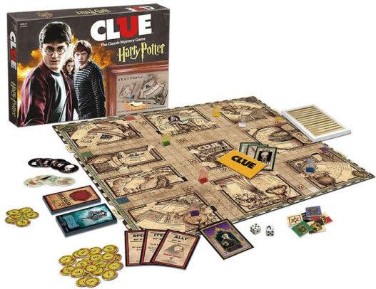Clue Harry Potter Edition Rain City Games