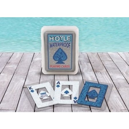 Hoyle Playing Cards - Clear Waterproof Deck