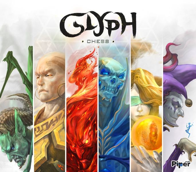 Glyph Chess board game