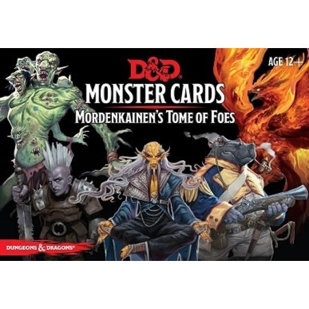 Monster Cards - Mordenkainen's Tome of Foes
