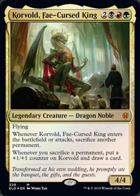 Korvold, Fae-Cursed King - Foil