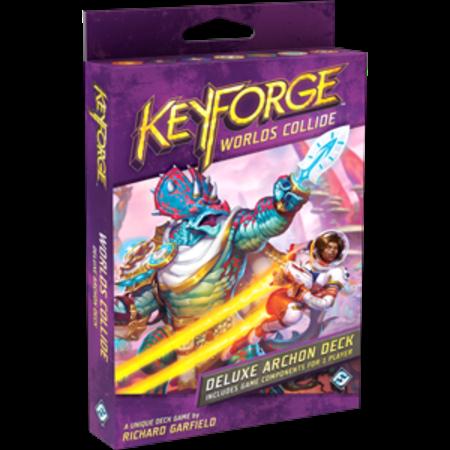 KeyForge: Worlds Collide - Deluxe Archon Deck