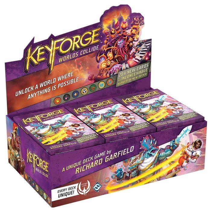 Keyforge: Worlds Collide - Archon Deck Display
