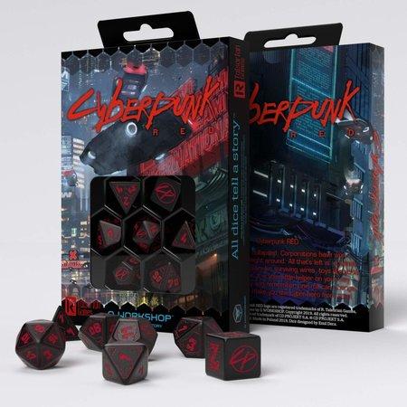 Cyberpunk RPG Dice