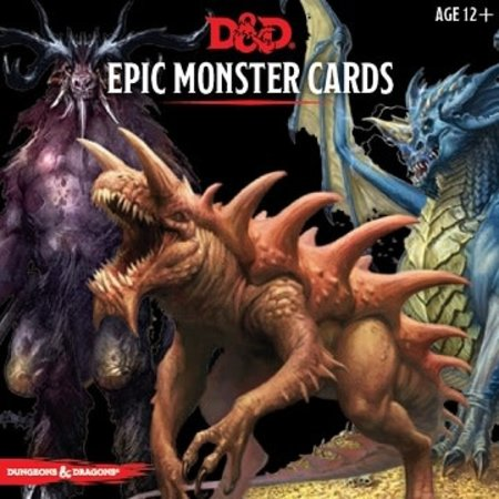 Monster Cards - Epic Monsters
