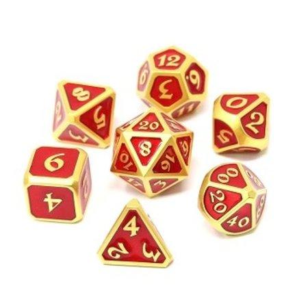 Metal Mythica Set - Satin Gold Ruby