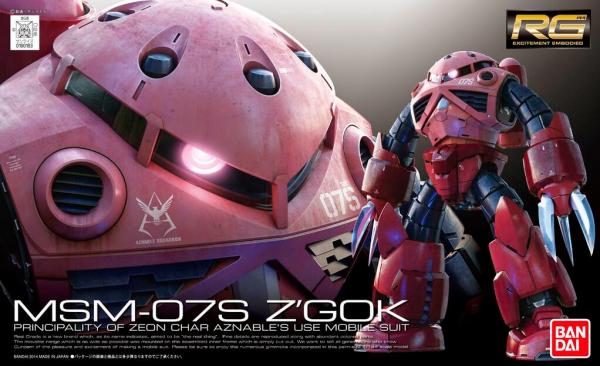 RG 1/144 Zgok Char Custom